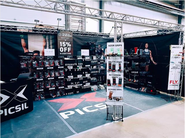 stand picsil crossfit games 2018